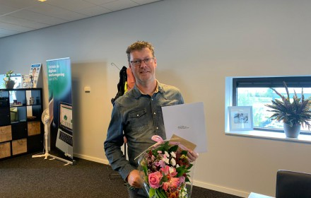 Jeroen Visser viert 15-jarig jubileum